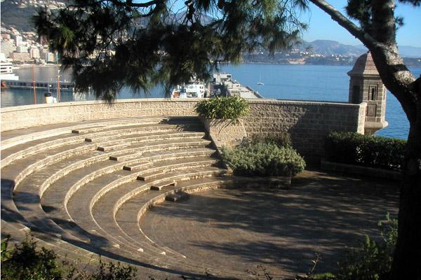 fortress, fort antoine monaco, fort antoine monte-carlo, open-air theater, rainier III, military architecture, monaco show, monte-carlo show