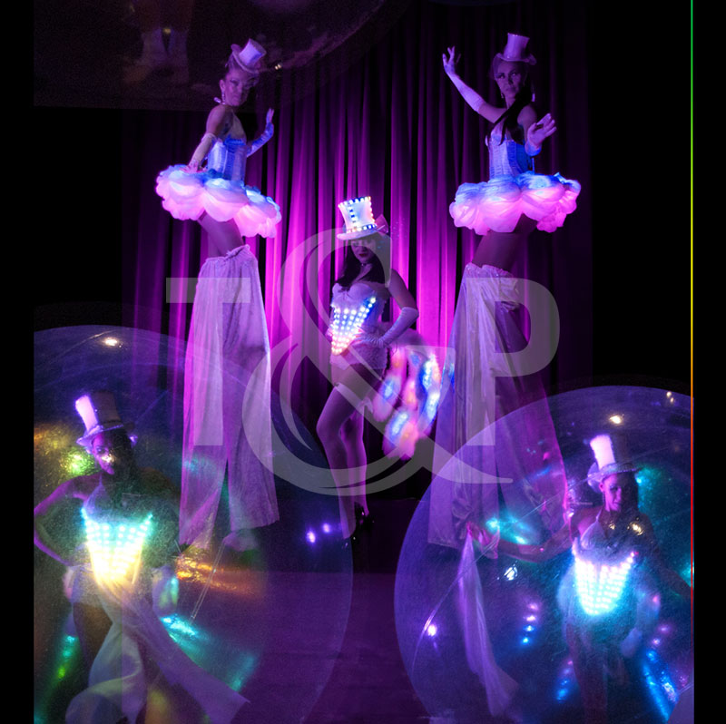 monaco led dancers, monaco led dancer, monte-carlo dancer, monaco dancer, lighting dancer, light dancers