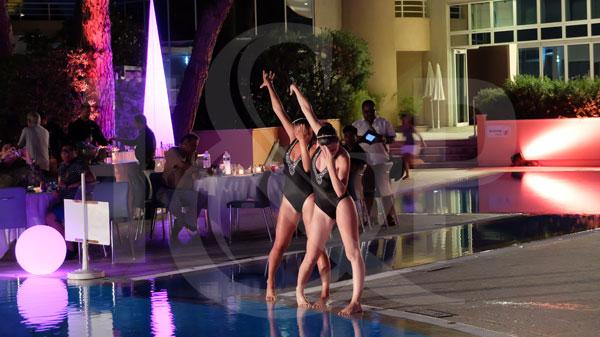 monte-carlo water show, monaco water show, monte-carlo swimmers, monaco swimmers, swimming pool show, swimming pool entertainment